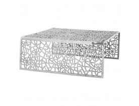 Table basse de salon 'ARANEA' en aluminium