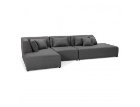 Canapé modulable design BELAGIO XL gris foncé - Alterego