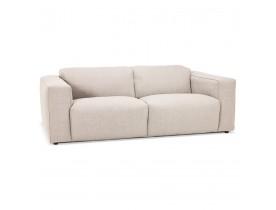 Canapé droit 'CANYON LARGE' beige - canapé 2,5 places design