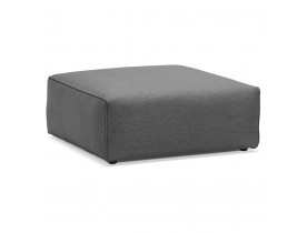 Pouf de canapé design 'CANYON ONE' gris foncé