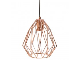 Suspension design 'CHIPCHIP' couleur cuivre