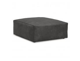 Pouf de canapé design 'COYOT ONE' gris foncé