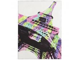 Tableau design 'EIFFEL' tour toile imprimée 90x120 cm