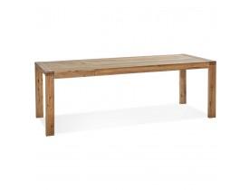 Table de salle à manger extensible 'EXTENSA' en Chêne massif - 200(280)x100 cm