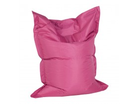 Pouf 'LAZY MINI' rose 130x100cm