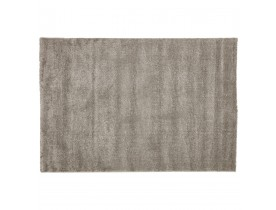 Tapis design LILOU 160x230 cm à poils longs gris - Photo 4