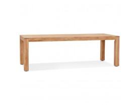 Table à dîner en bois massif 'MARINA' intérieur / extérieur - 240x100 cm