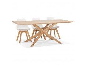 Table de salle à manger 'MANITOU' en chêne massif