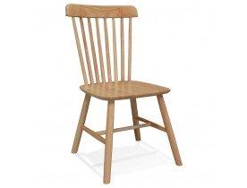 Chaise design 'MONTANA' en bois finition naturelle - commande par 2 pièces / prix pour 1 pièce