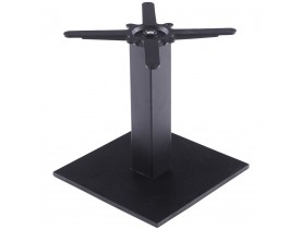 Pied de table 'NERO' 45  noir en métal