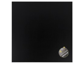 Plateau de table 'PLANO' carré 60x60cm noir en résine compressée
