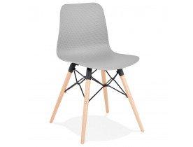 Chaise scandinave 'TONIC' grise design