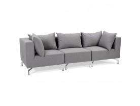 Canapé modulable design 'VOLTAIRE' gris