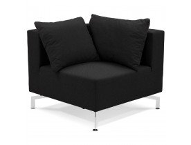 Element de canape modulable VOLTAIRE CORNER noir - Alterego