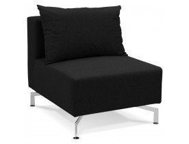 Element de canape modulable VOLTAIRE SEAT noir - Alterego