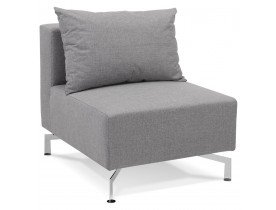 Element de canape modulable VOLTAIRE SEAT gris - Alterego