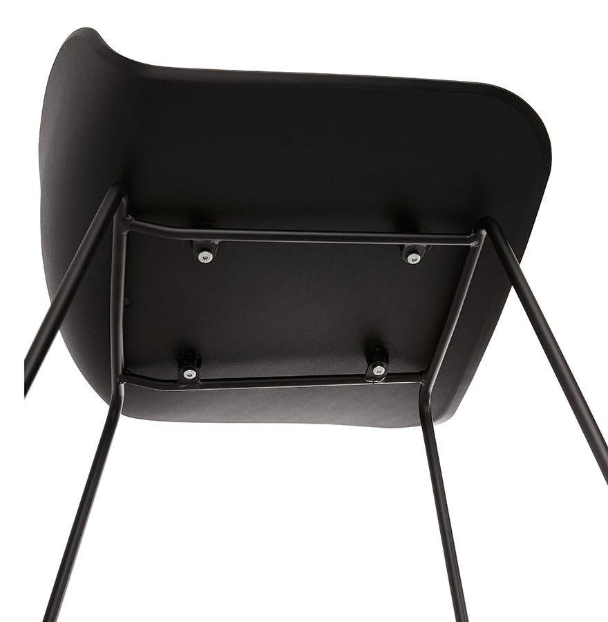 tabouret snack babylos mini noir tabouret style industriel. Black Bedroom Furniture Sets. Home Design Ideas