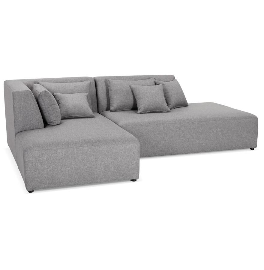 canap modulable belagio l shape gris clair avec. Black Bedroom Furniture Sets. Home Design Ideas