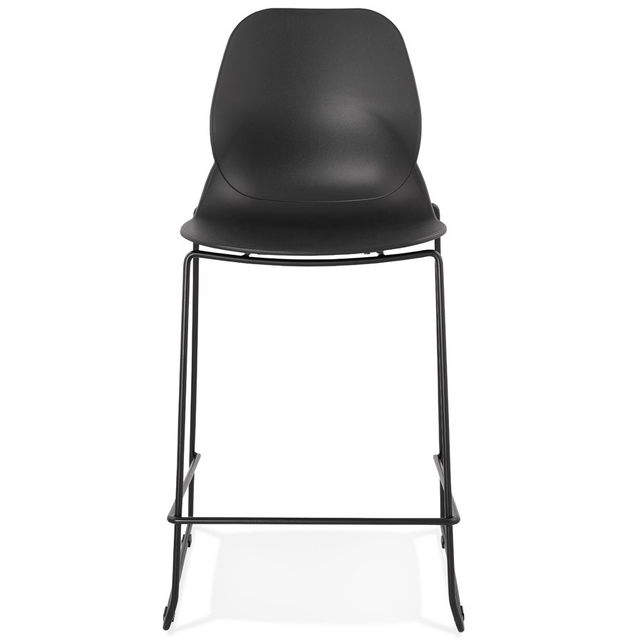 tabouret snack berlin mini noir tabouret mi hauteur moderne. Black Bedroom Furniture Sets. Home Design Ideas
