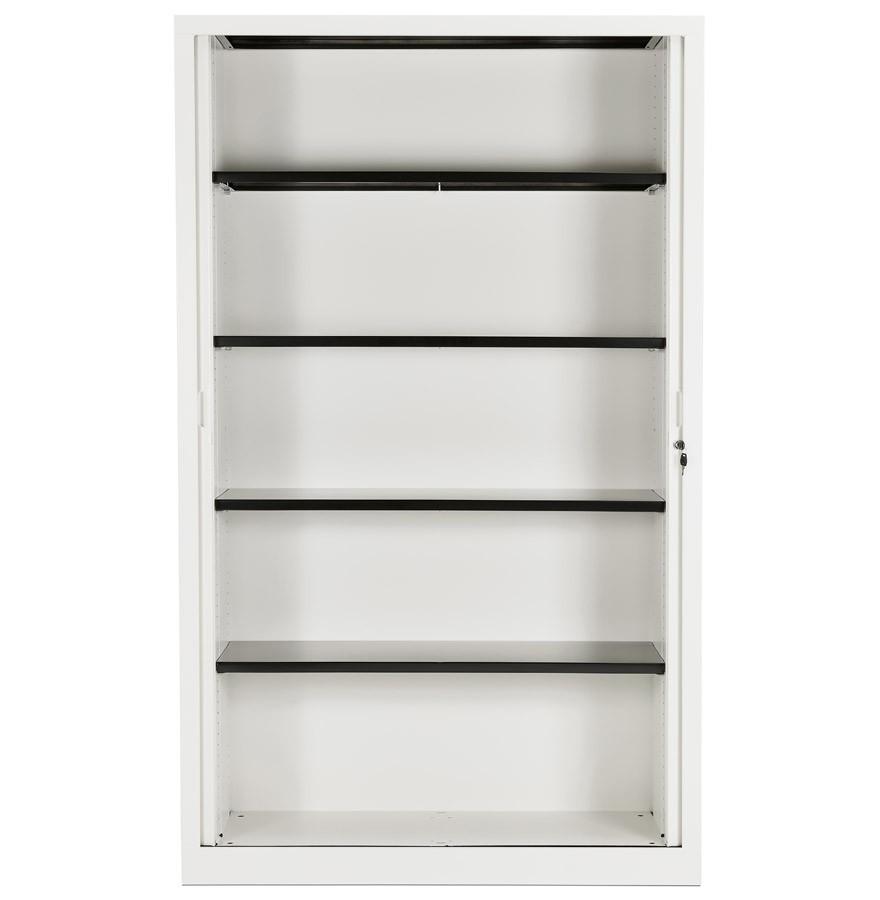 Armoire de bureau haute classify blanche armoire rideaux for Armoire blanche bureau