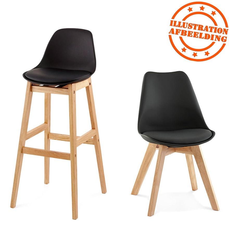 tabouret de bar kiko noir style scandinave tabouret design. Black Bedroom Furniture Sets. Home Design Ideas