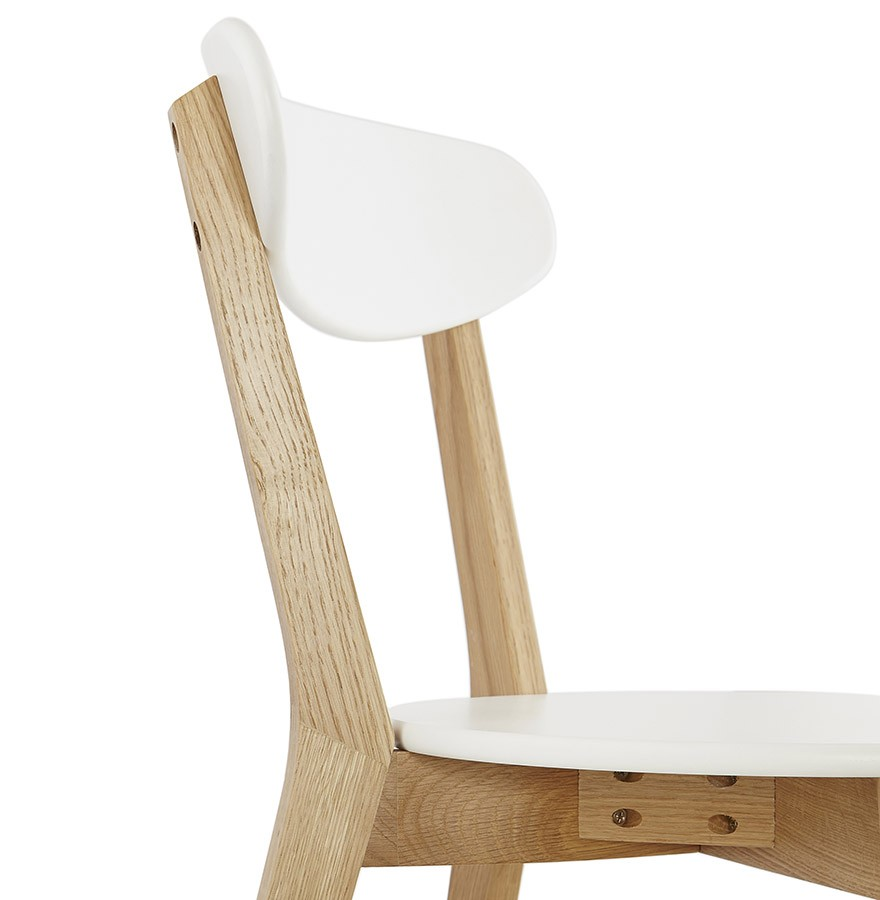 Chaise scandinave DADY blanche - chaise design