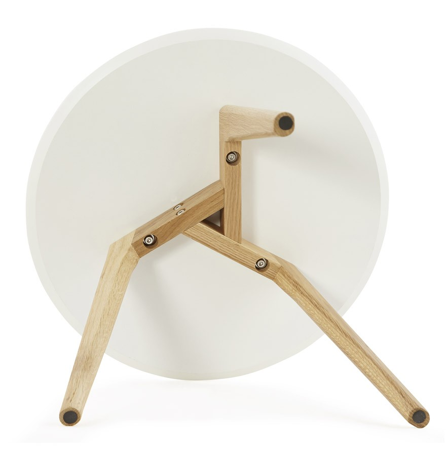 Table Gigogne Ronde Gaby Au Design Scandinave Table Dappoint