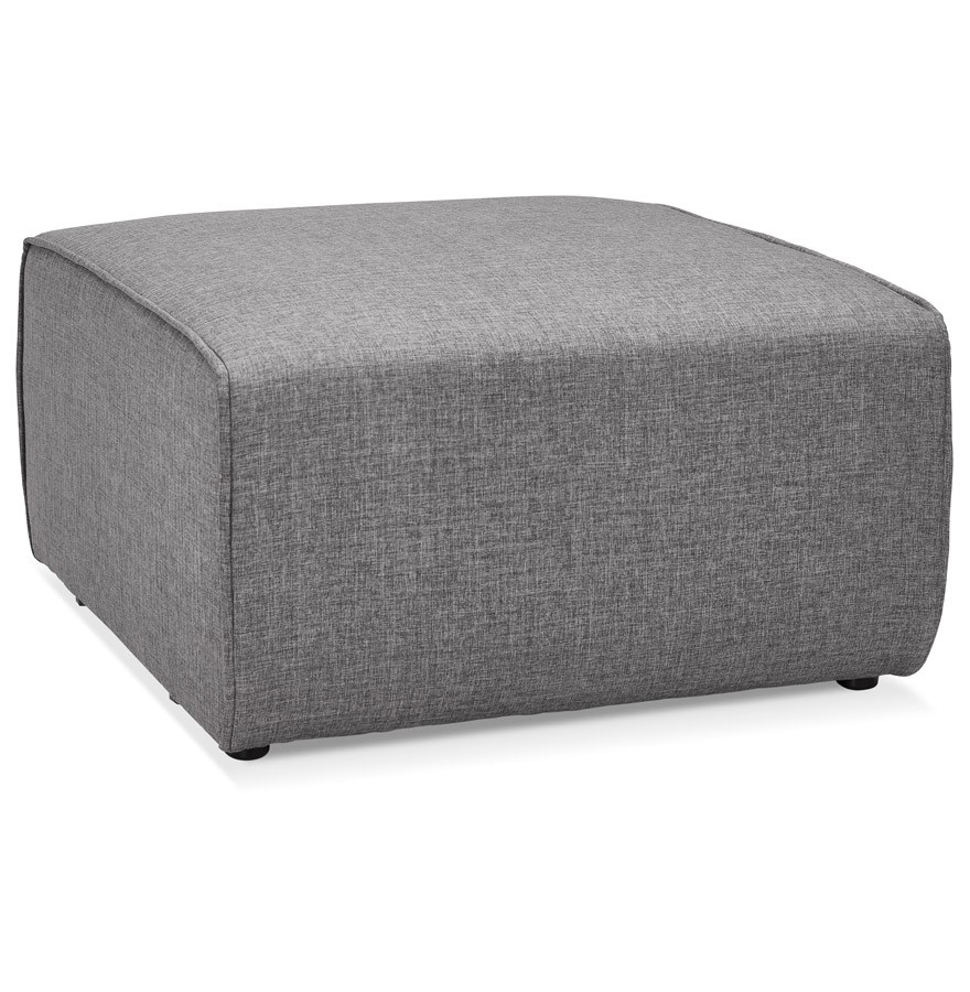 pouf de canap infinity one gris clair canap modulable. Black Bedroom Furniture Sets. Home Design Ideas