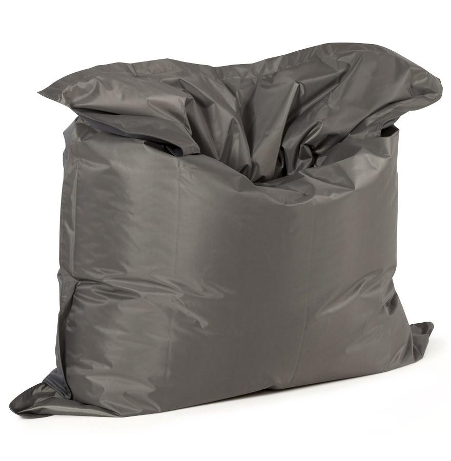Pouf g ant lazy gris fon pouf design 180x140cm - Bille d argile pas cher ...