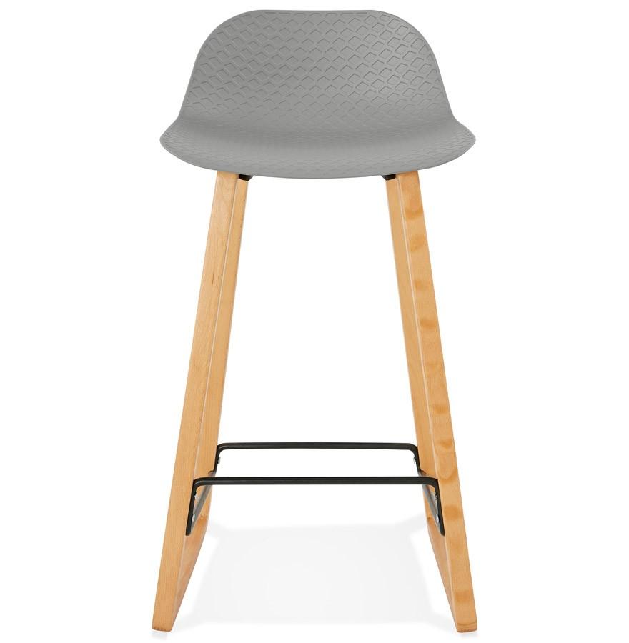 tabouret snack maki mini gris style scandinave tabouret. Black Bedroom Furniture Sets. Home Design Ideas