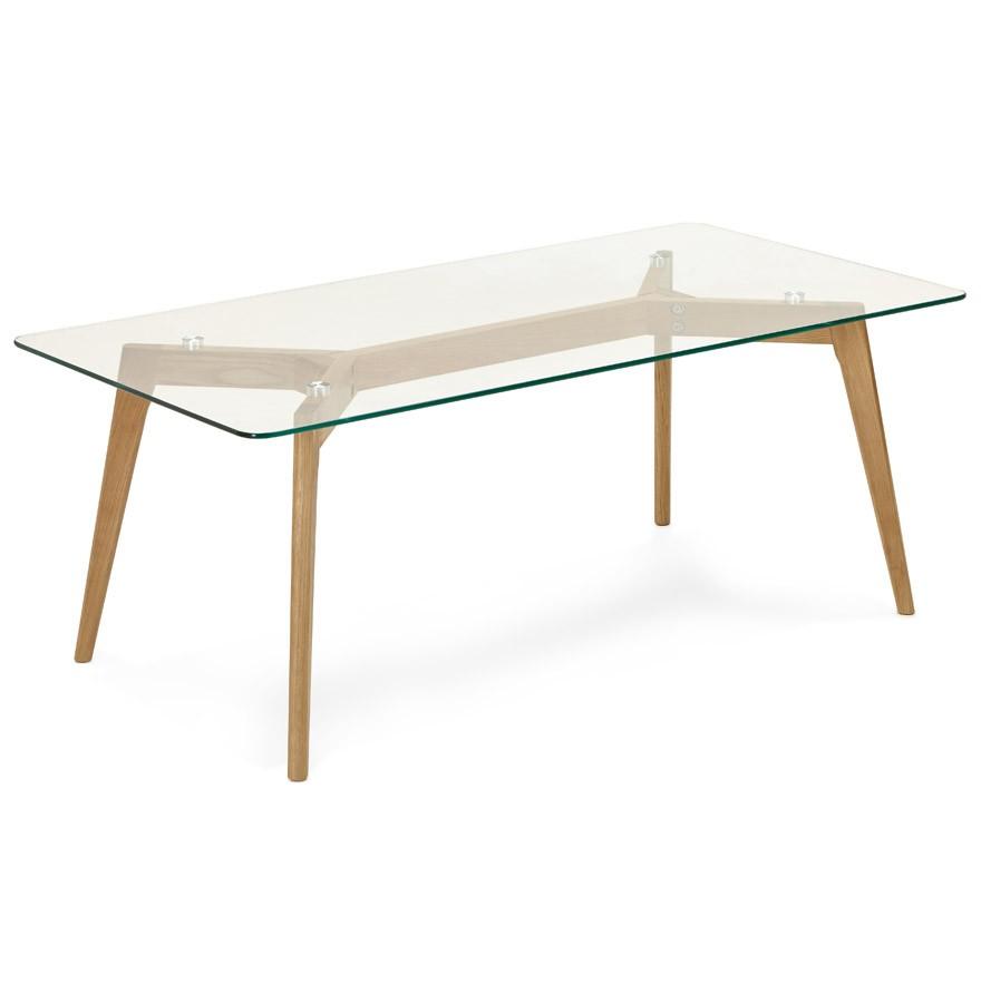 Table Basse De Salon Design Moly En Verre