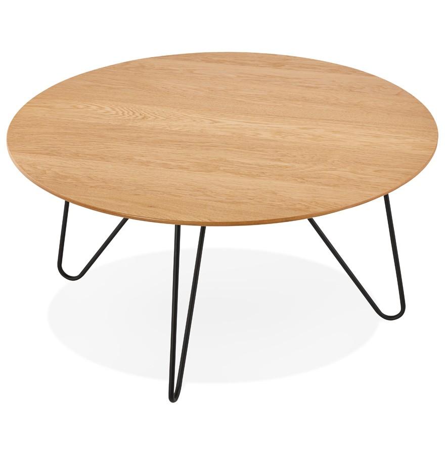 Table Basse De Salon Pluto En Bois Naturel Table Design