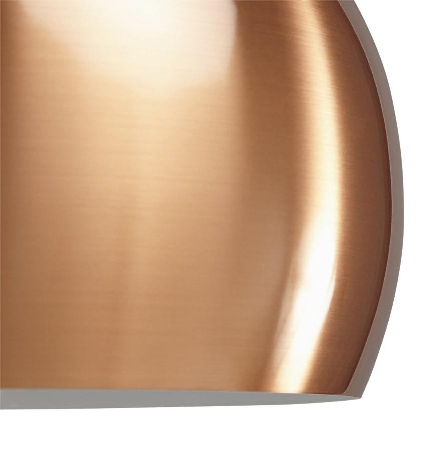 suspension boule pogo couleur cuivre lustre design. Black Bedroom Furniture Sets. Home Design Ideas