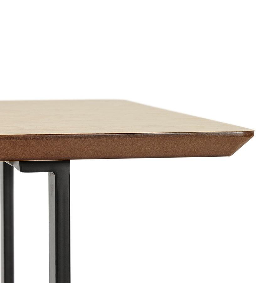 table design titus en bois naturel bureau moderne 150x70 cm. Black Bedroom Furniture Sets. Home Design Ideas