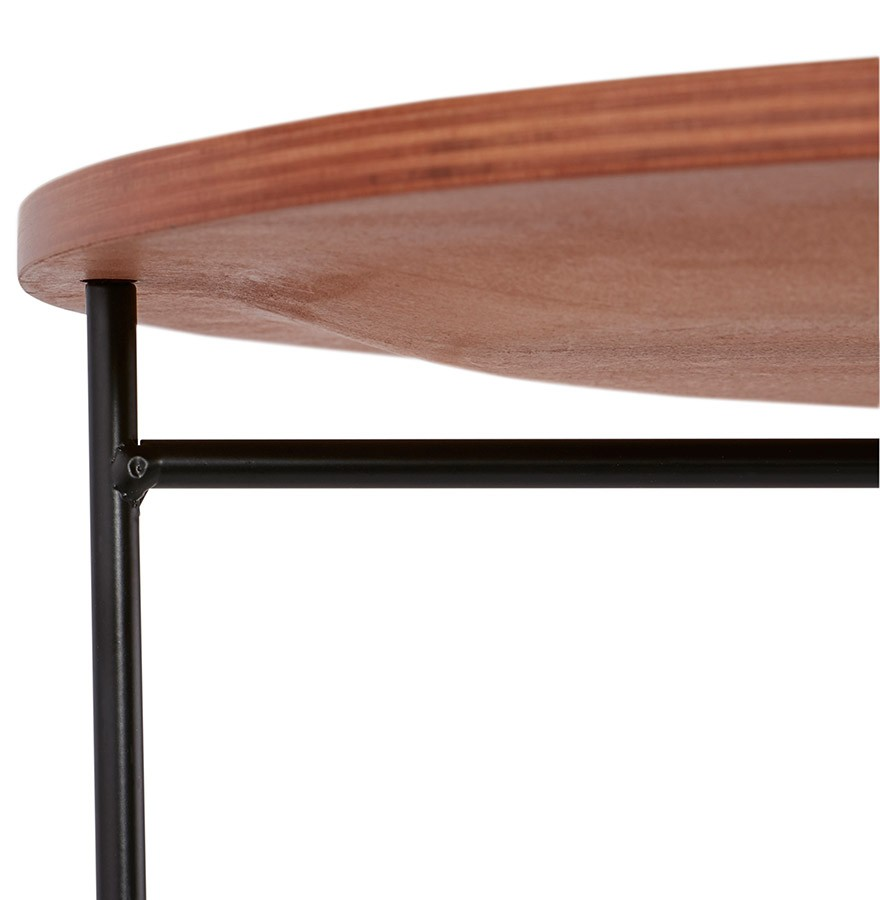 Table d 39 appoint tsunami style industriel table design for Table esprit industriel