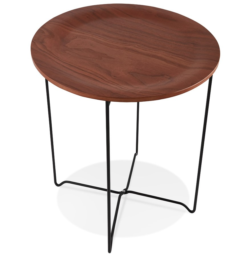 table d 39 appoint tsunami style industriel table design. Black Bedroom Furniture Sets. Home Design Ideas