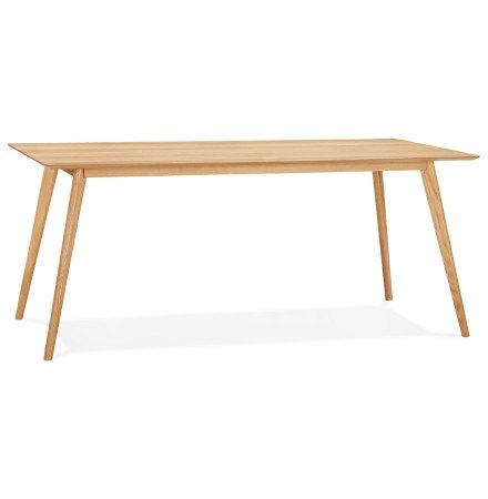 Table à manger / bureau design 'BARISTA' en bois style scandinave - 180x90 cm