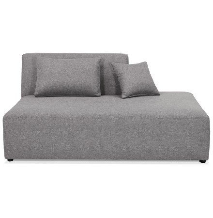 Module BELAGIO BENCH gris clair - méridienne droite - Photo 2
