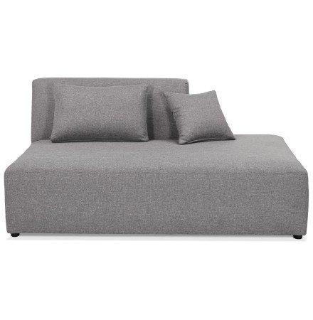 Élément de canapé modulable 'BELAGIO BENCH' gris clair - méridienne droite