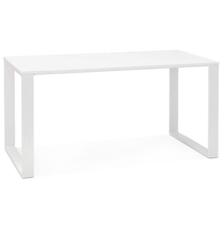 Bureau droit/table à diner 'CALIFORNIA' en bois blanc