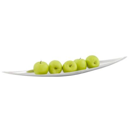 Porte-fruits / bougeoir 'CANOA' en aluminium