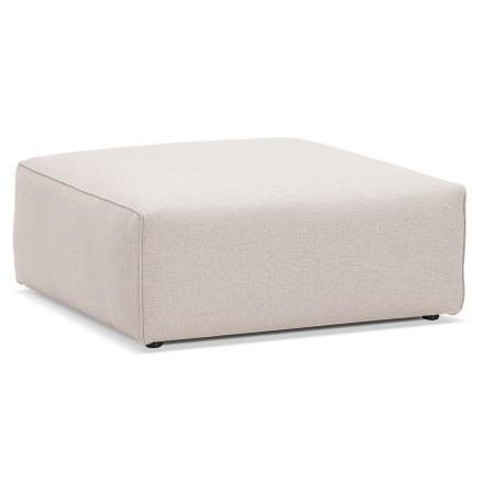 Pouf de canapé design 'CANYON ONE' beige
