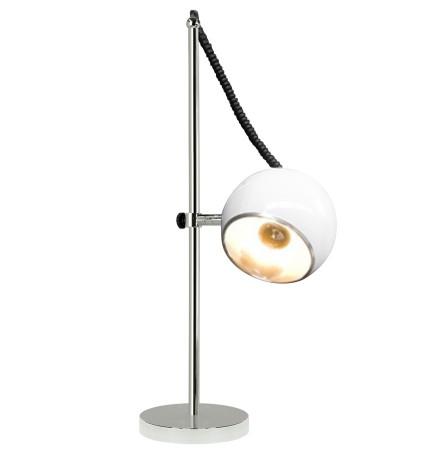 Lampe à poser de bureau / de lecture 'ENNA' BLANC