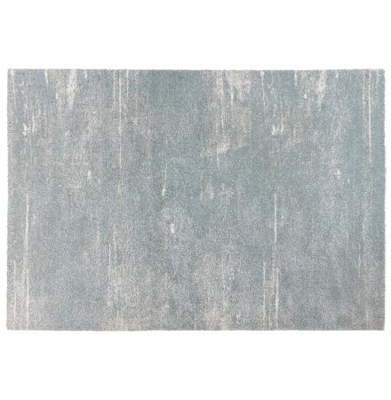 Tapis design 'FRESH' 160/230 cm bleu clair avec motifs