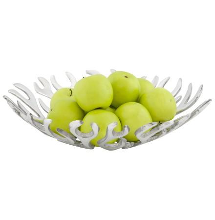 Porte-fruits 'FRUKTU' en aluminium