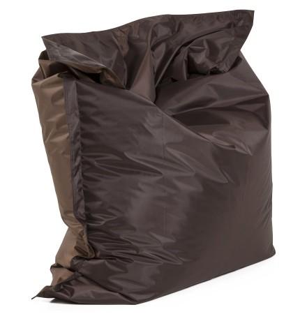 Pouf géant 'LAZY' brun/brun 180x140cm