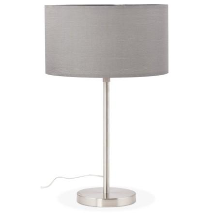 Lampe a poser LIVING MINI grise reglable en hauteur - Alterego