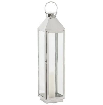 Lanterne 'LIWA BIG' en aluminium et verre