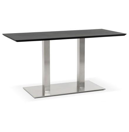 Table / bureau design 'MAMBO' noir - 150x70 cm