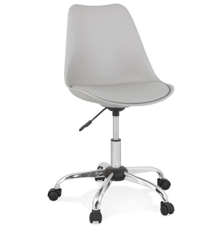 Chaise de bureau 'MONKY' grise design